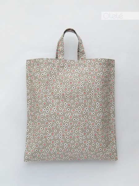 Fabric grocery bag - Grey #08